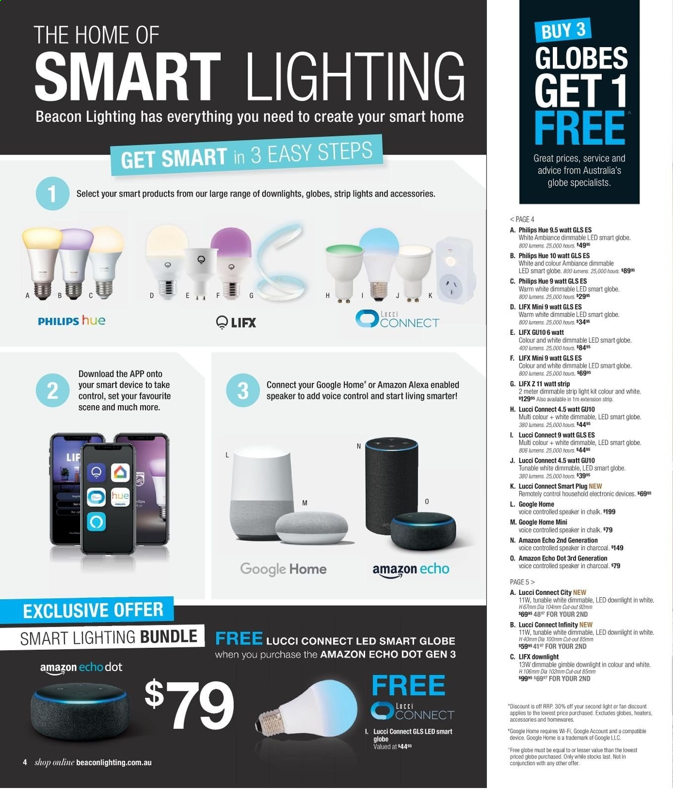 Beacon Lighting Catalogue And Weekly Specials 29 4 2019