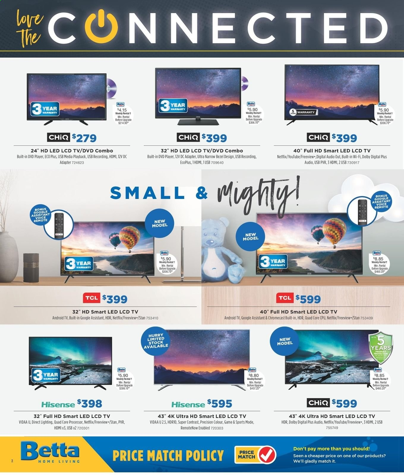 Betta catalogue and weekly specials 6 5 2019 - 31 5 2019