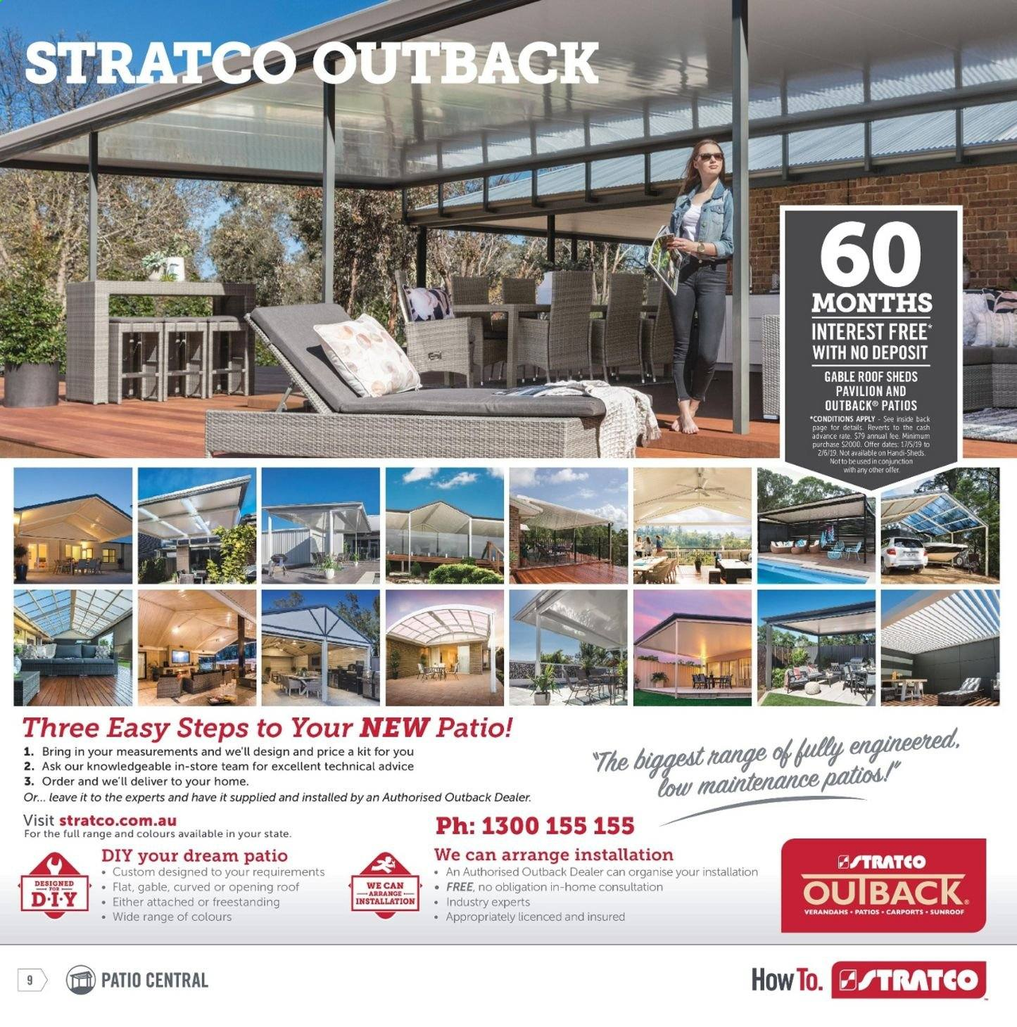 Stratco catalogue and weekly specials 10 5 2019 - 2 6 2019 | Au