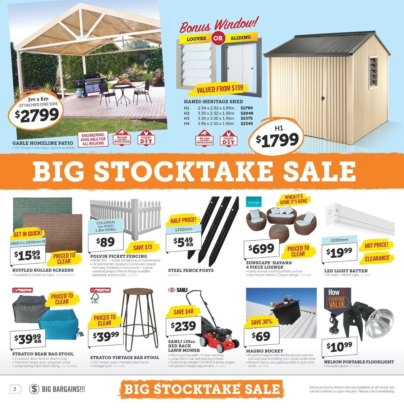 Stratco catalogue and weekly specials 31 5 2019 - 16 6 2019 | Au