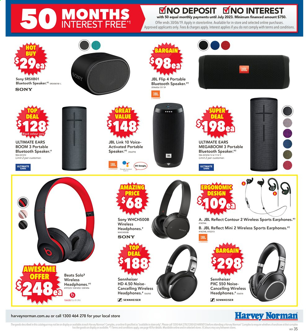 49e01306af8 Harvey Norman Catalogue - 30.5.2019 - 30.6.2019 - Sales products - bluetooth