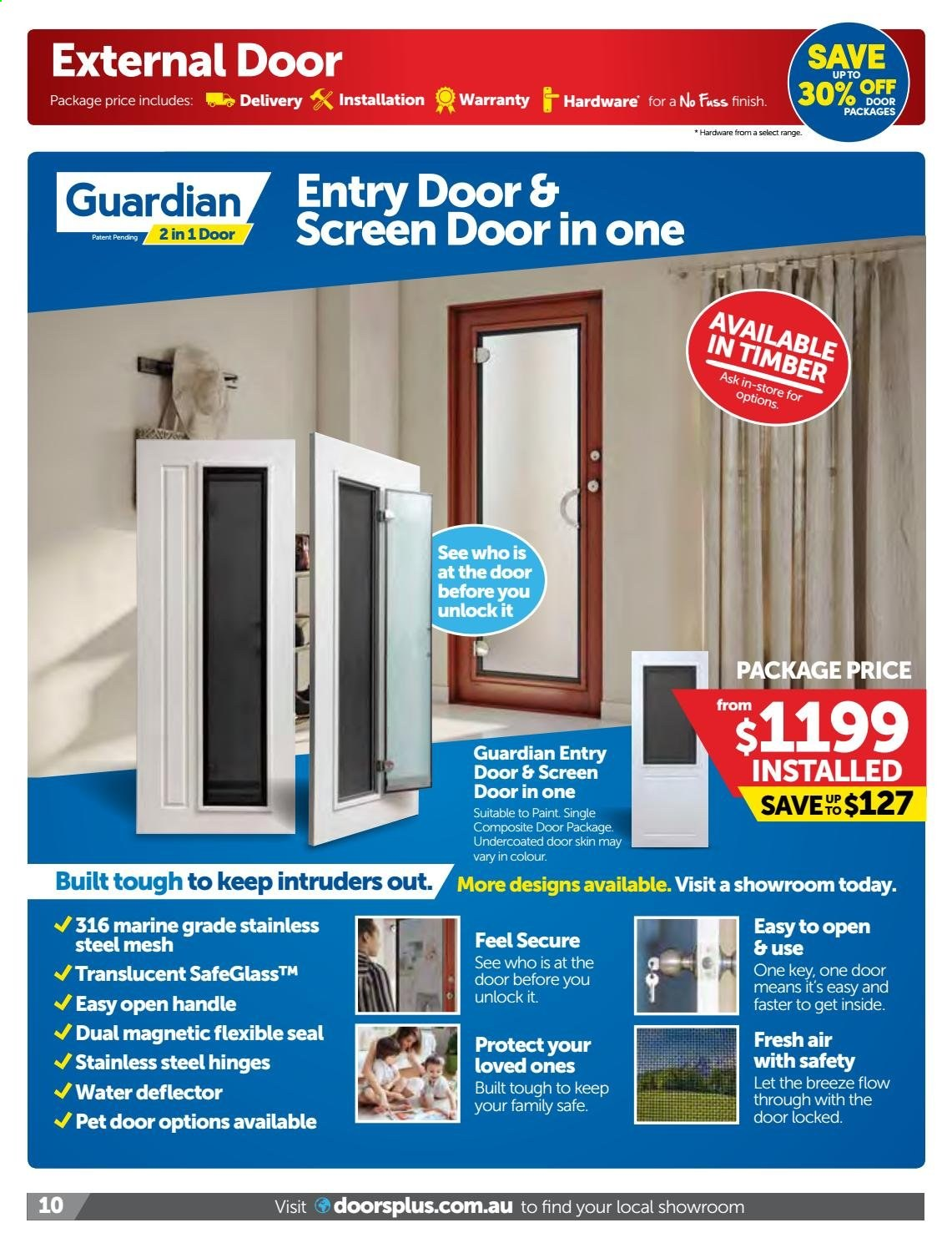 Doors Plus catalogue and weekly specials 1 6 2019 - 30 8