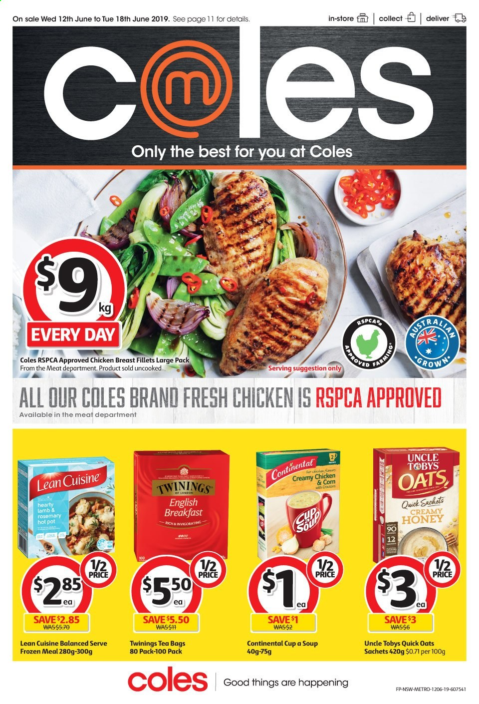 Coles catalogue and weekly specials 12 6 2019 - 18 6 2019 | Au