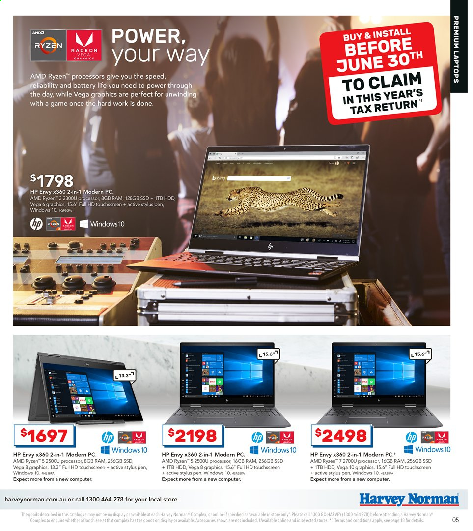 Harvey Norman catalogue and weekly specials 11 6 2019 - 30 6 2019