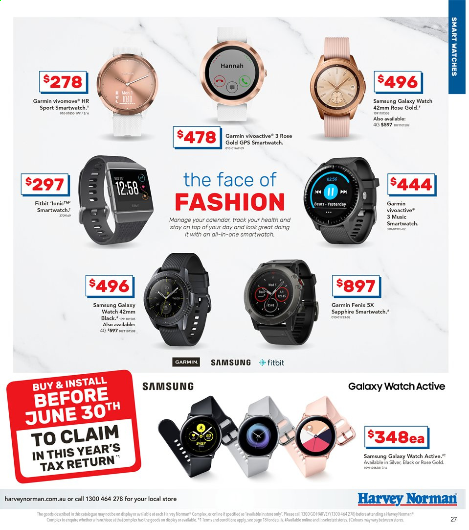 Harvey Norman Catalogue And Weekly Specials 11 6 2019 30 6 2019