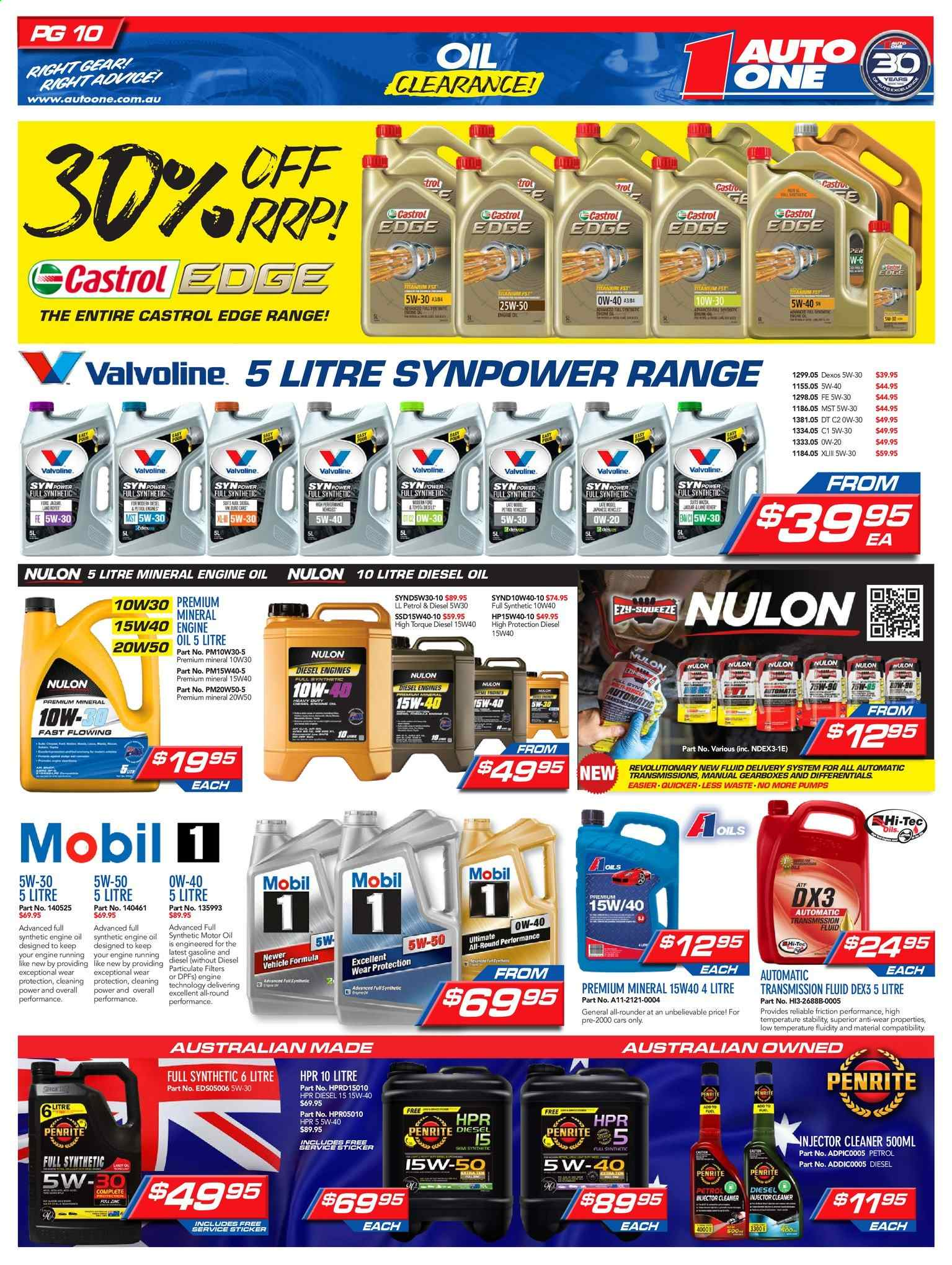 Auto One catalogue and weekly specials 12 6 2019 - 30 6 2019 | Au