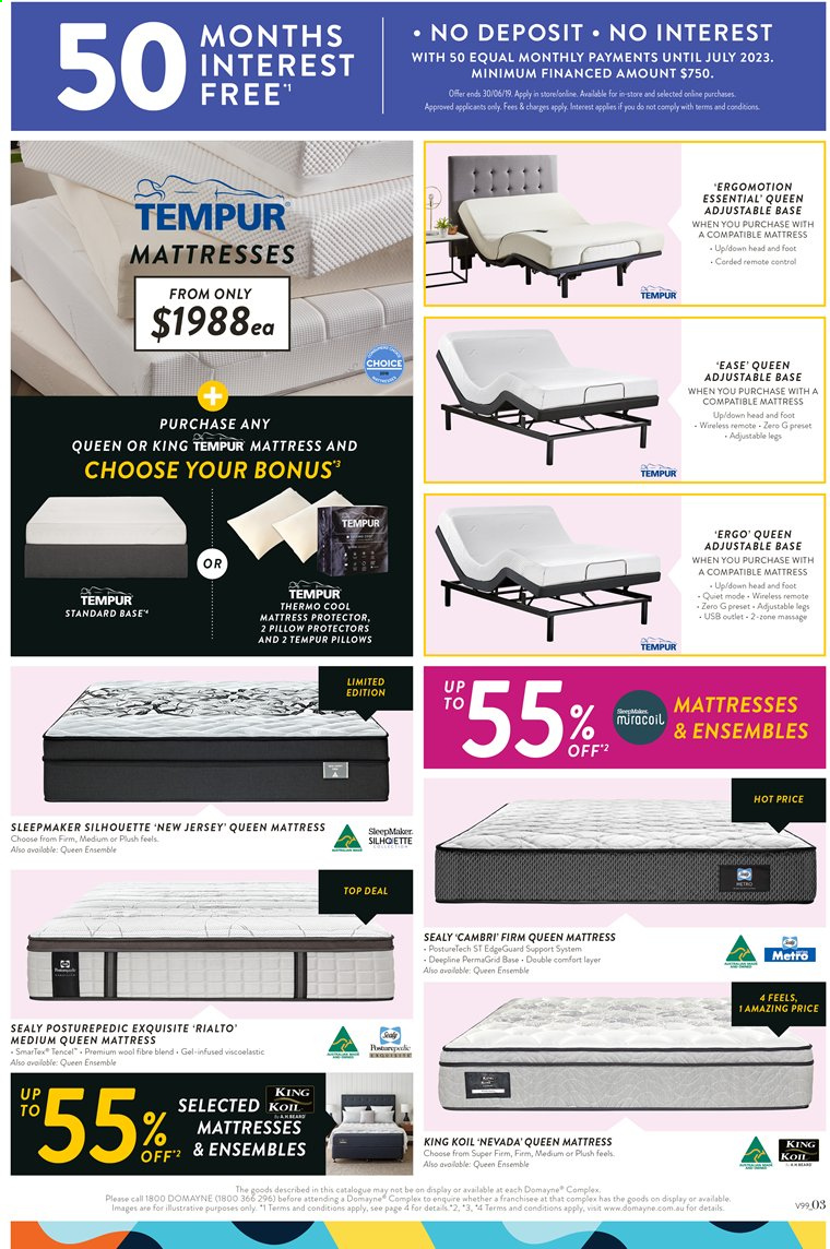 new style 3fa15 8fd5a Domayne catalogue and weekly specials 14.6.2019 - 30.6.2019 ...