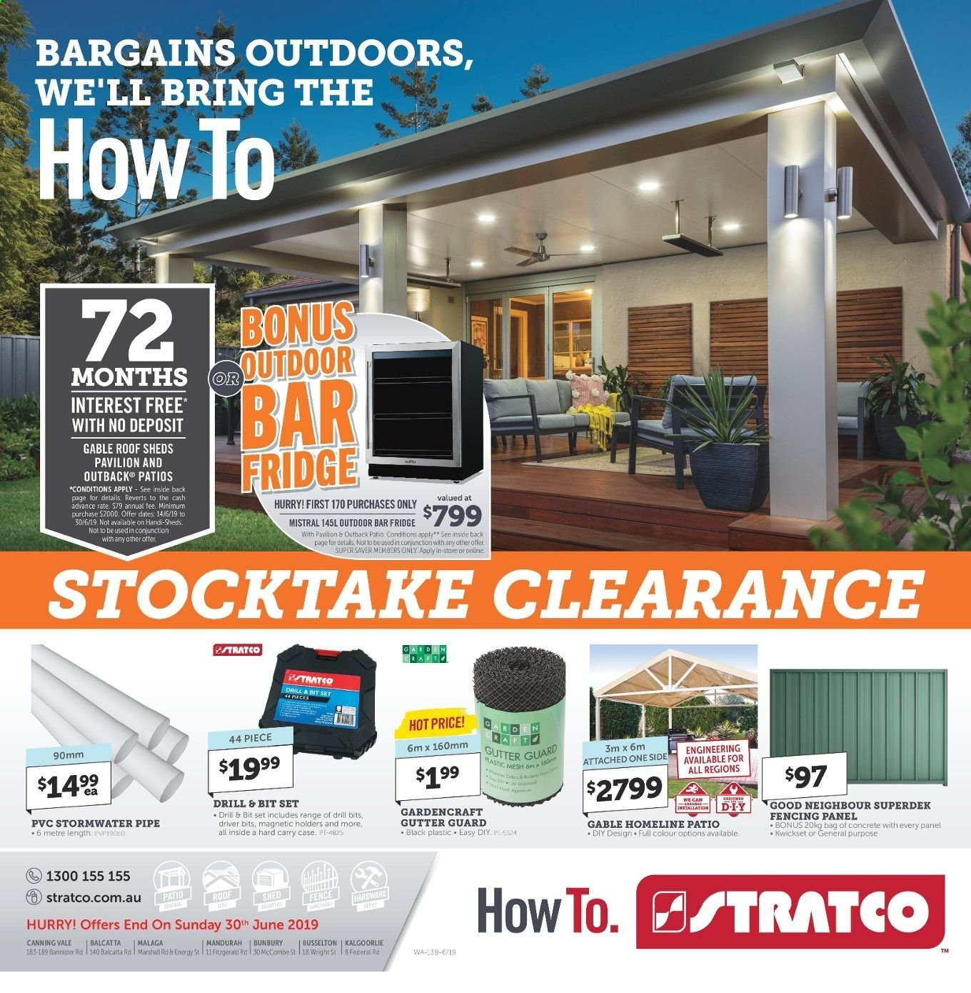Stratco catalogue and weekly specials 14 6 2019 - 30 6 2019