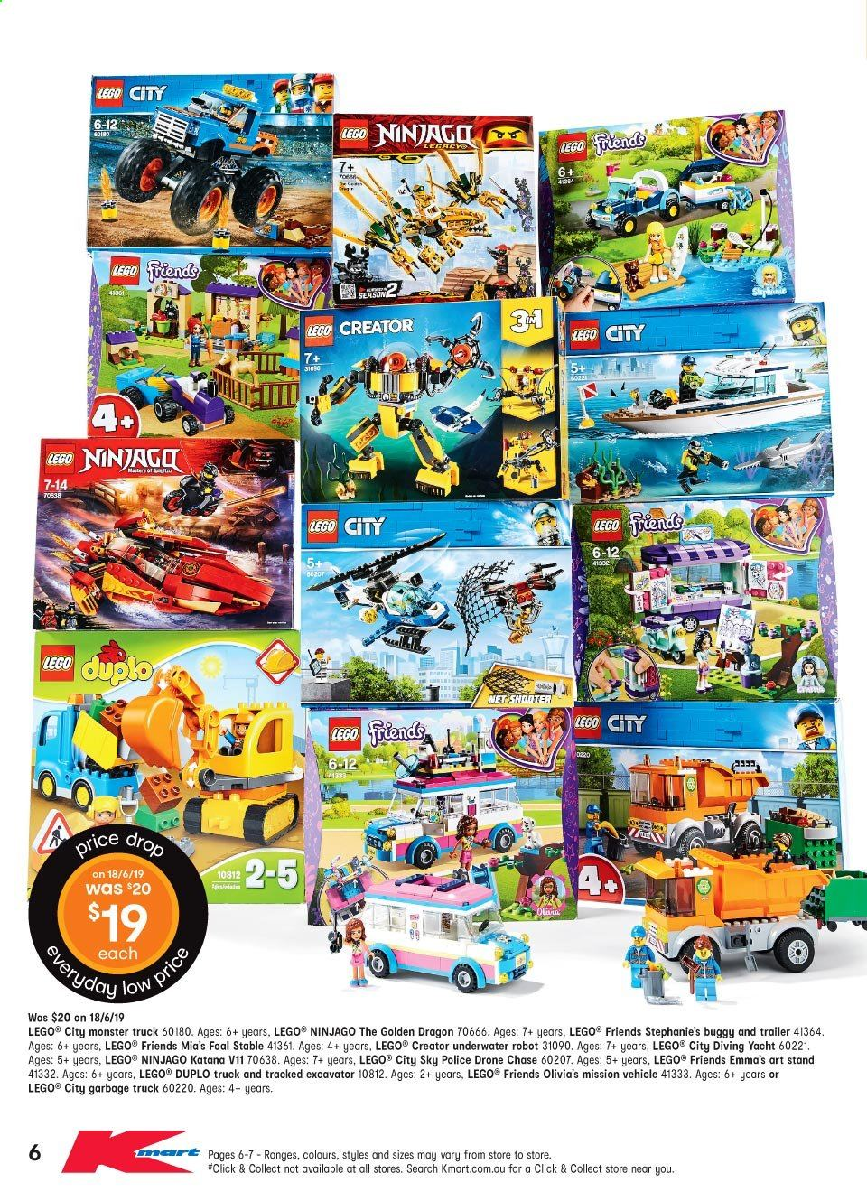 Kmart catalogue and weekly specials 20 6 2019 - 10 7 2019 | Au
