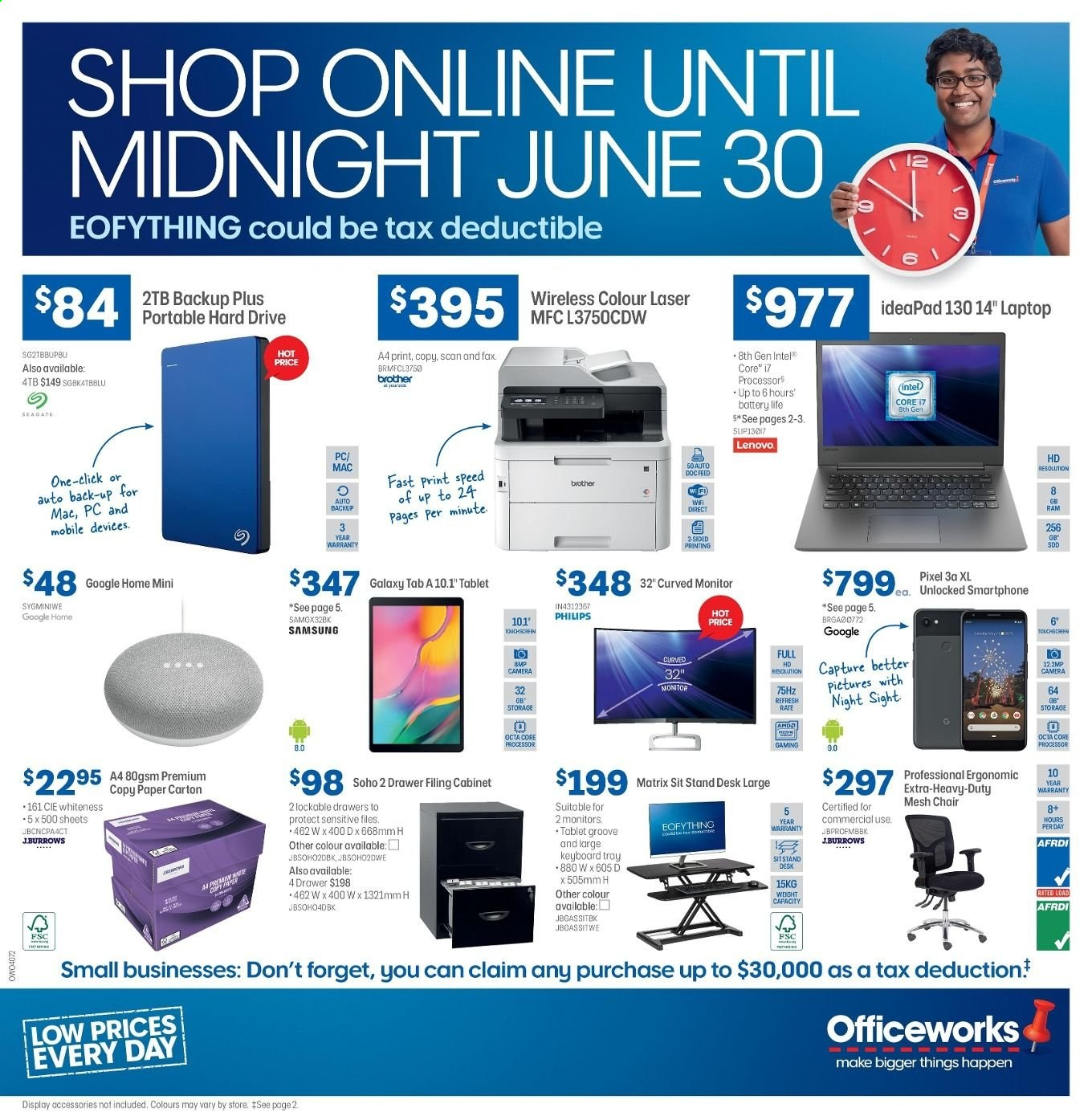 Officeworks catalogue and weekly specials 19 6 2019 - 30 6