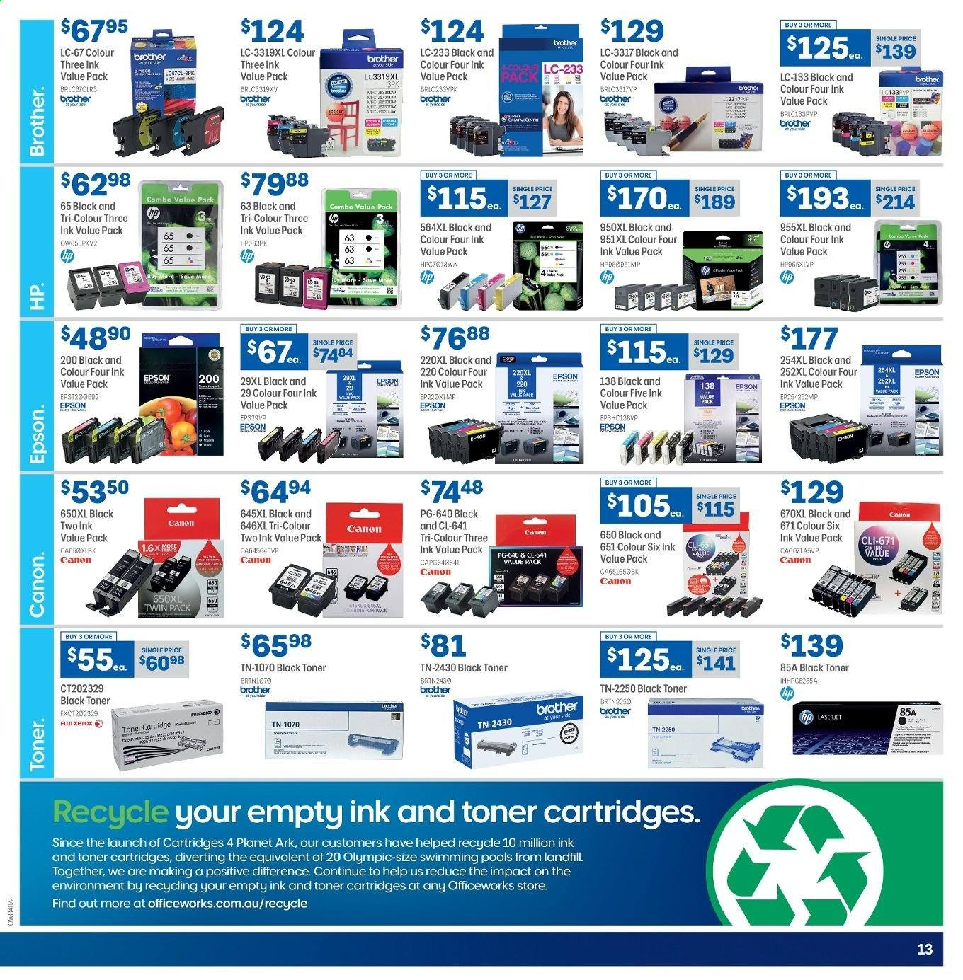 Officeworks catalogue and weekly specials 19 6 2019 - 30 6 2019   Au