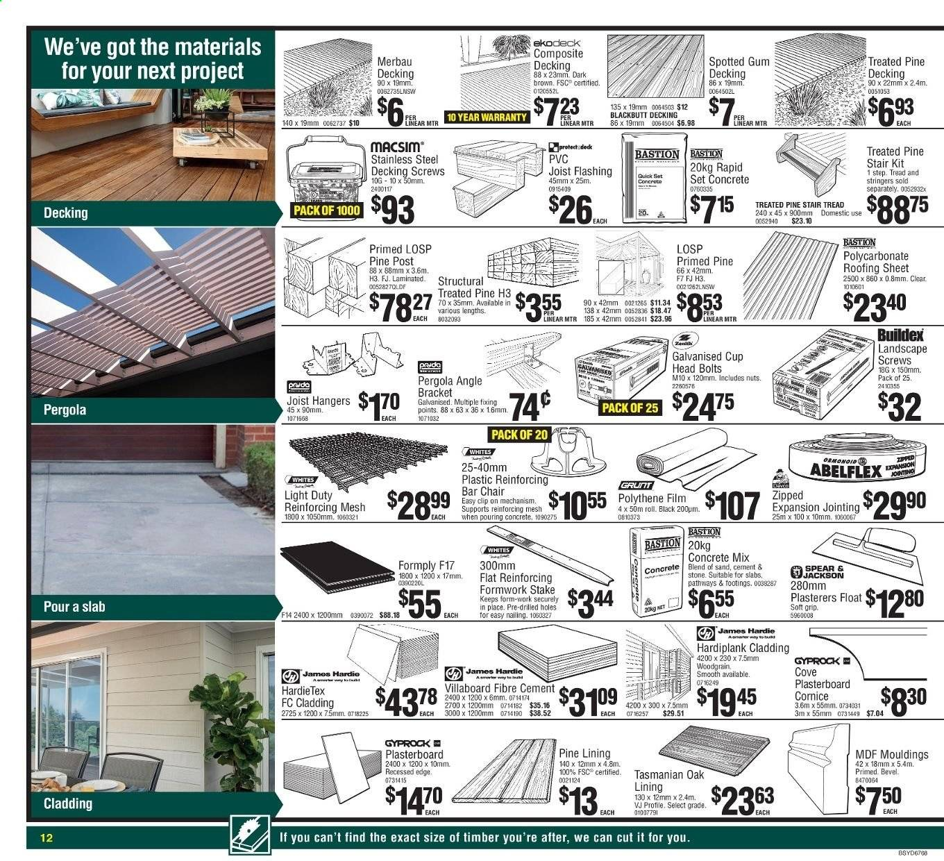 Bunnings Warehouse catalogue and weekly specials   Au