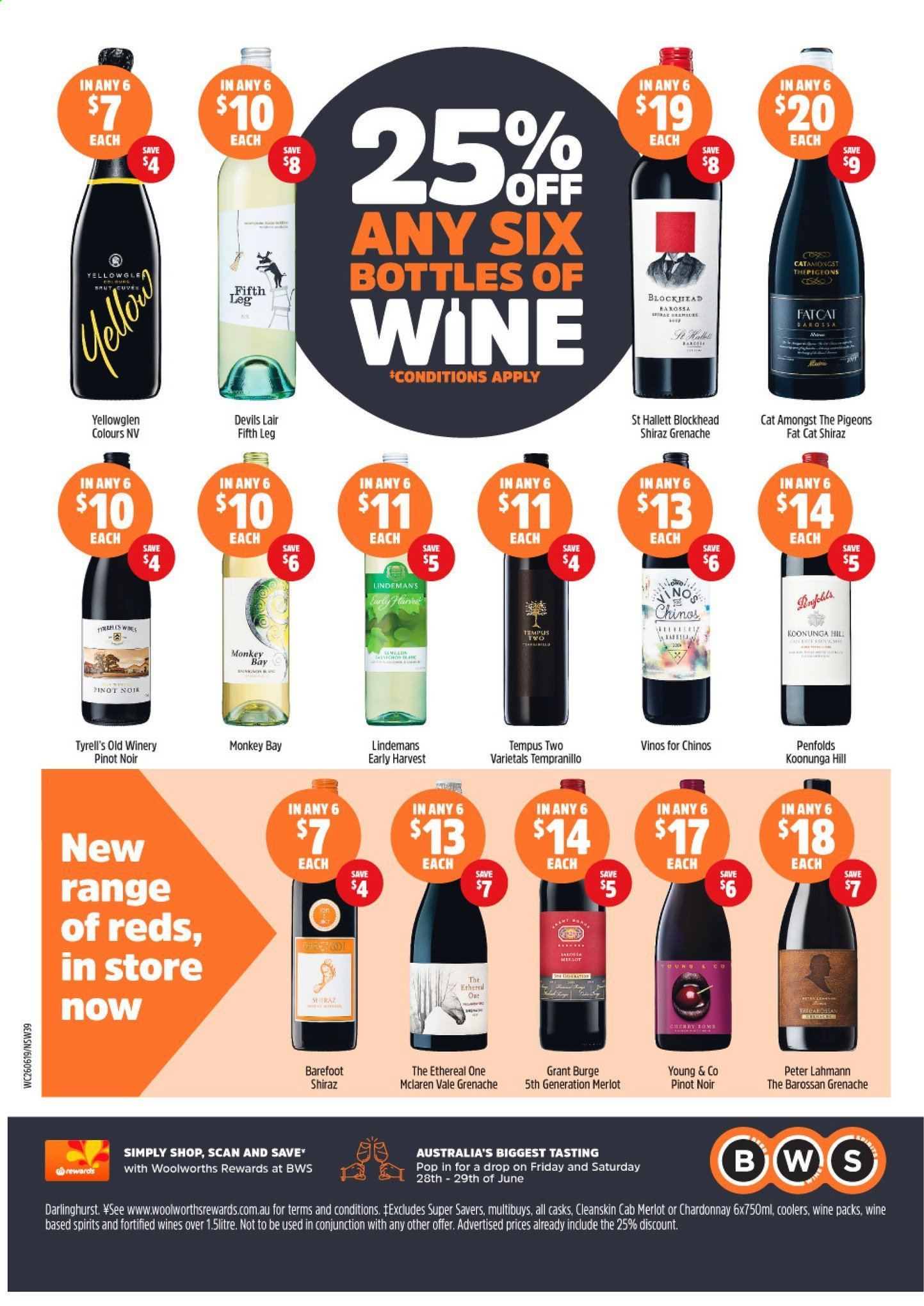 BWS catalogue and weekly specials 26 6 2019 - 2 7 2019   Au