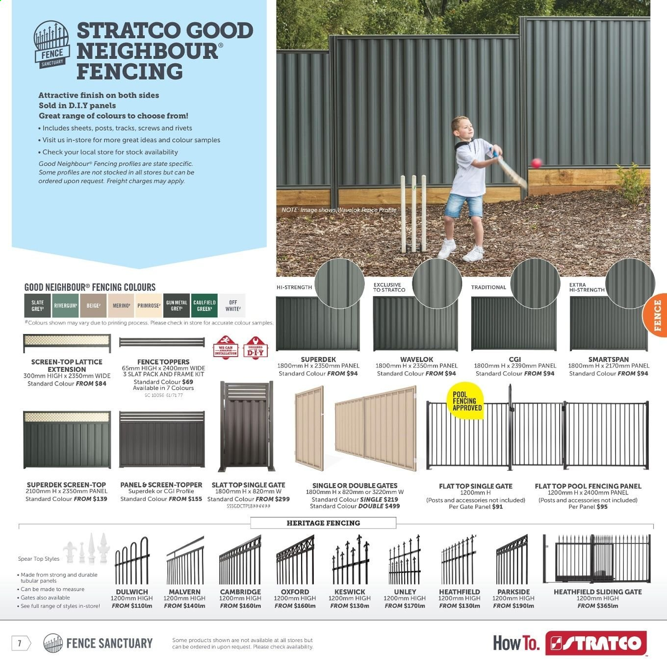 Stratco catalogue and weekly specials 28 6 2019 - 14 7 2019 | Au