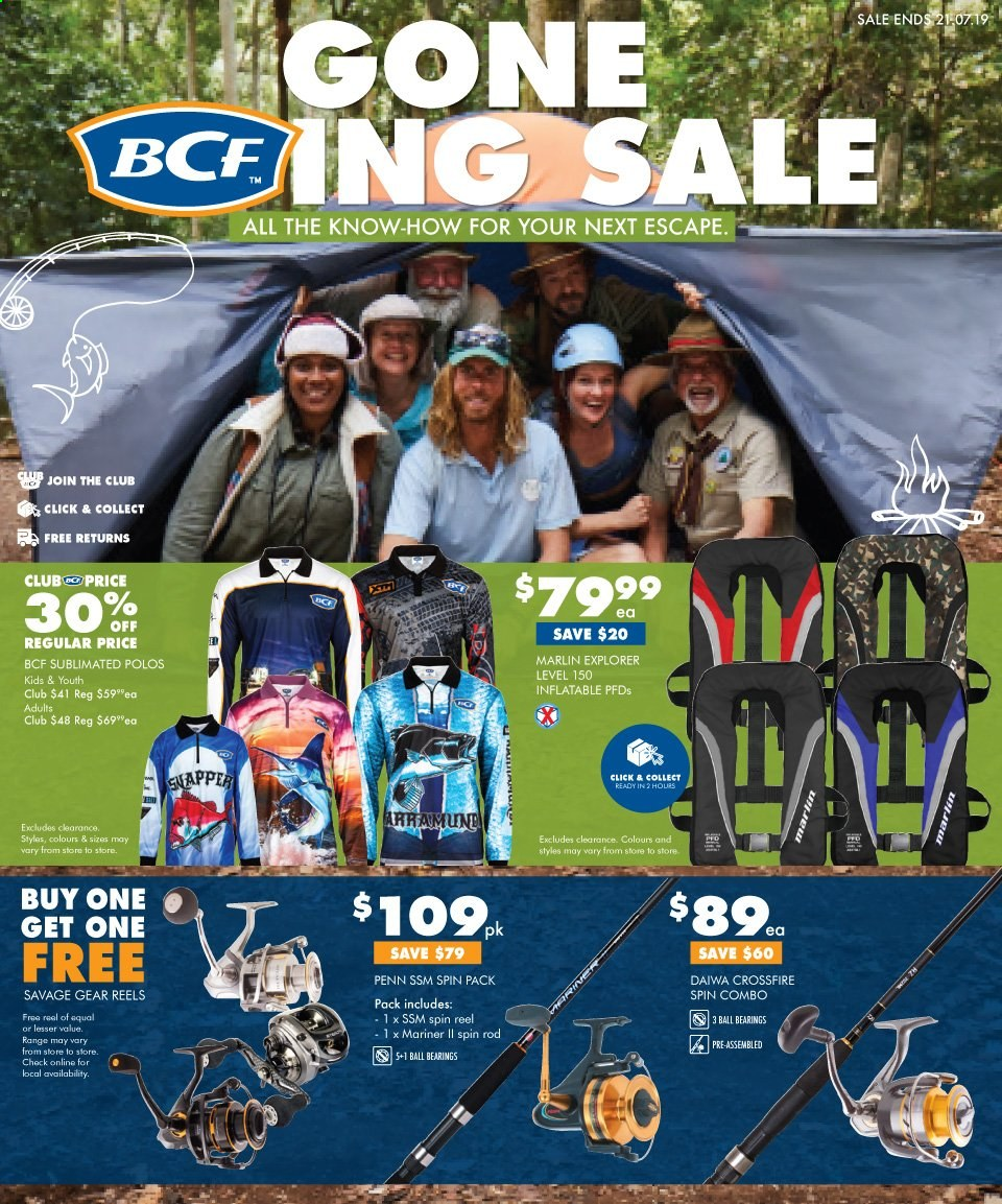 BCF catalogue  - 3.7.2019 - 21.7.2019. Page 1.