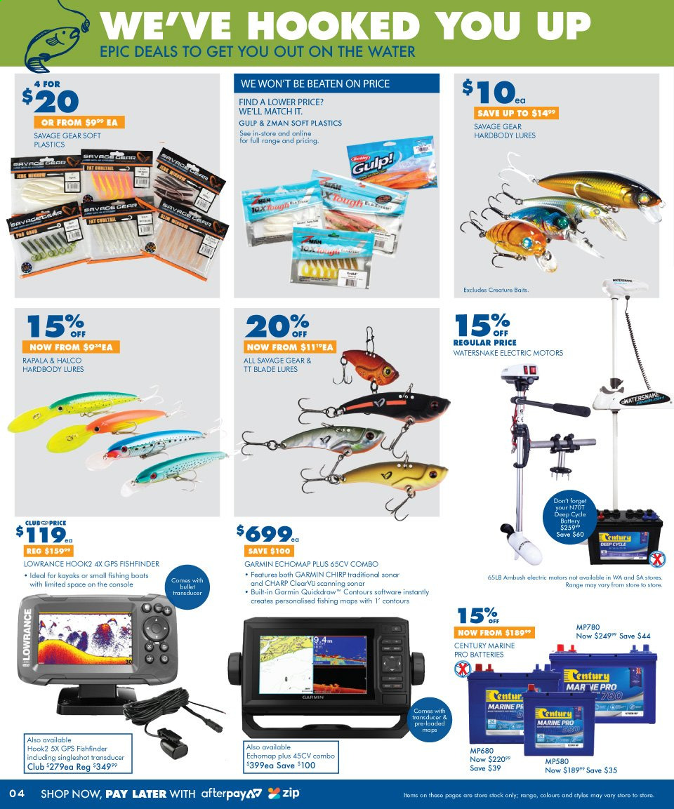 BCF catalogue and weekly specials 3 7 2019 - 21 7 2019 | Au