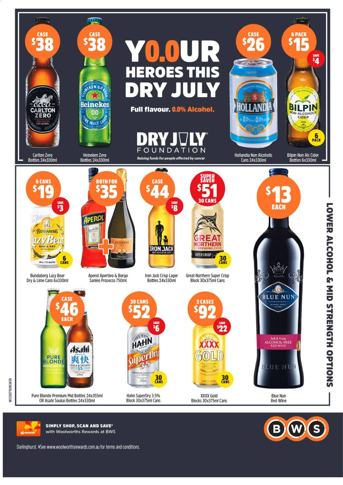 BWS catalogue and weekly specials 3 7 2019 - 9 7 2019 | Au