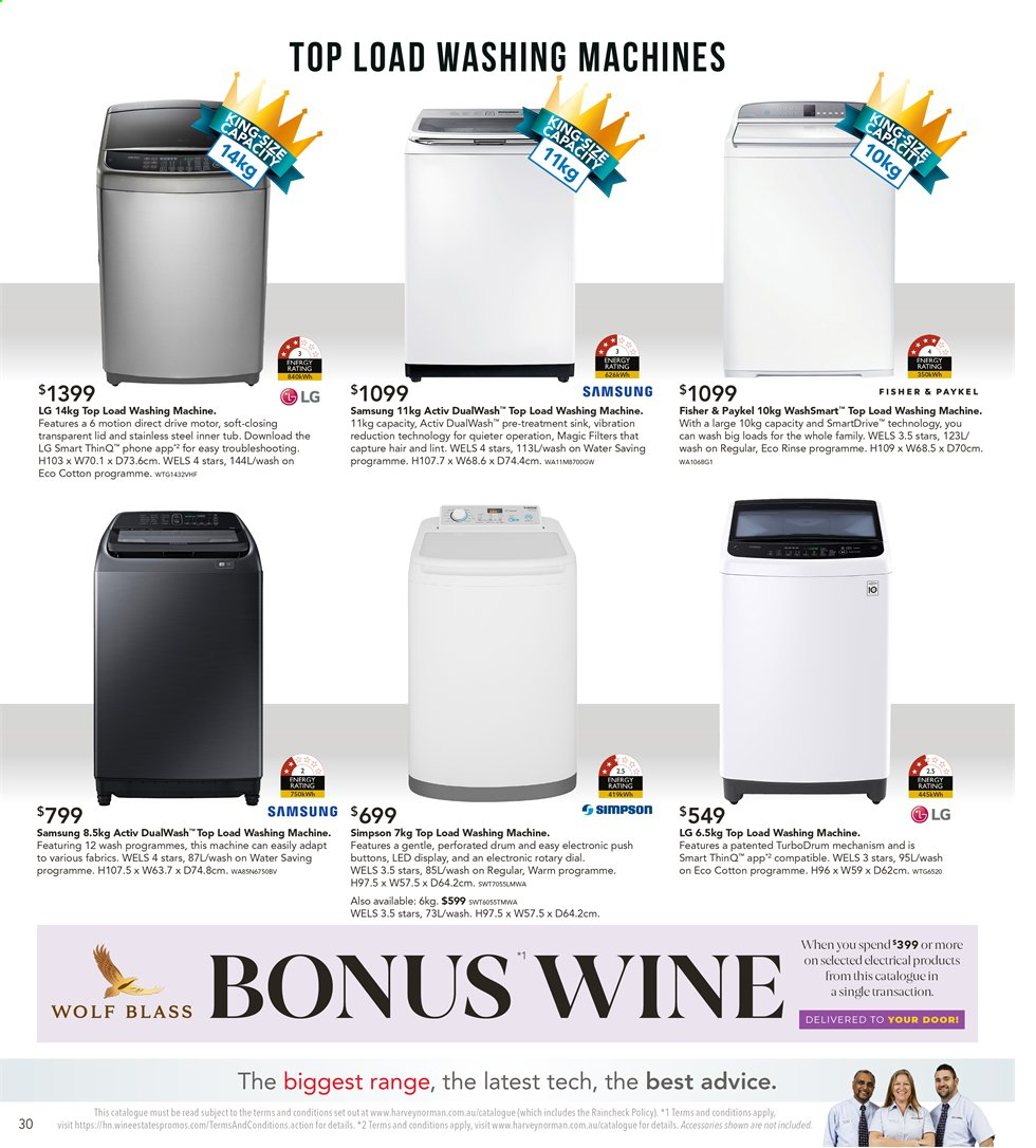 Harvey Norman catalogue and weekly specials 5 7 2019 - 29 7 2019