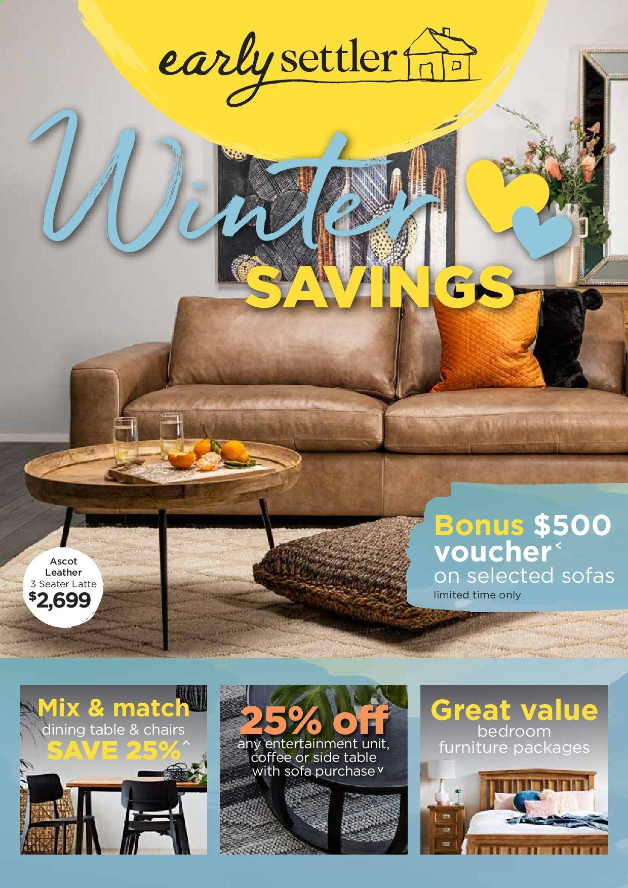 Marvelous Early Settler Catalogue And Weekly Specials Au Catalogues Com Andrewgaddart Wooden Chair Designs For Living Room Andrewgaddartcom