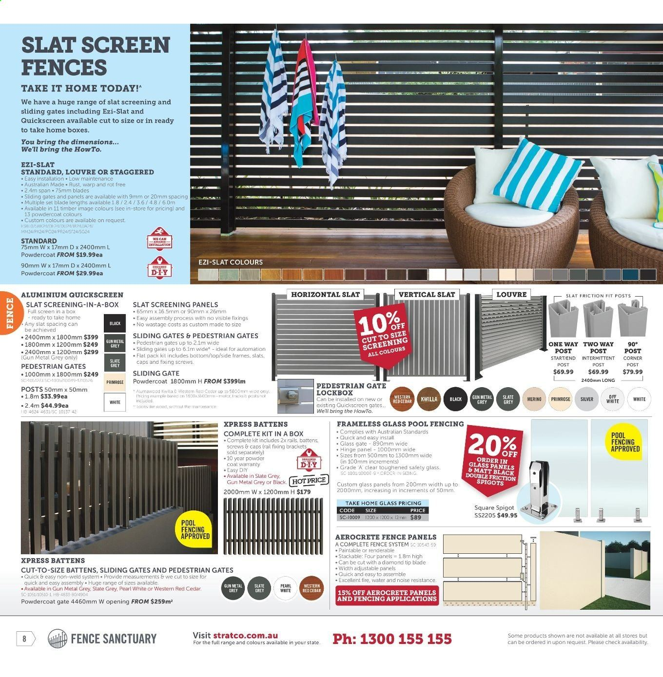 Stratco catalogue and weekly specials 12 7 2019 - 28 7 2019 | Au