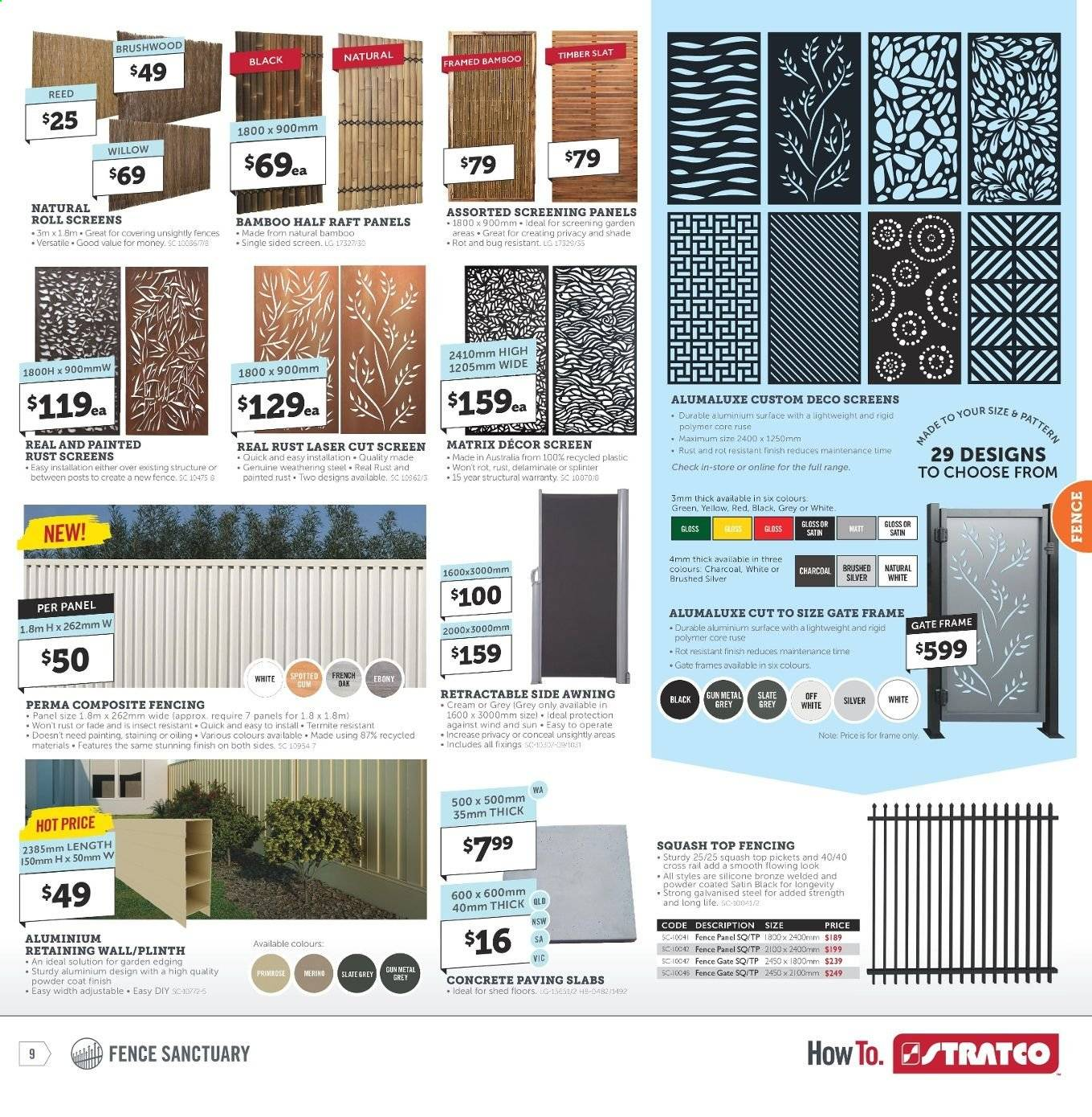 Stratco catalogue and weekly specials 12 7 2019 - 28 7 2019
