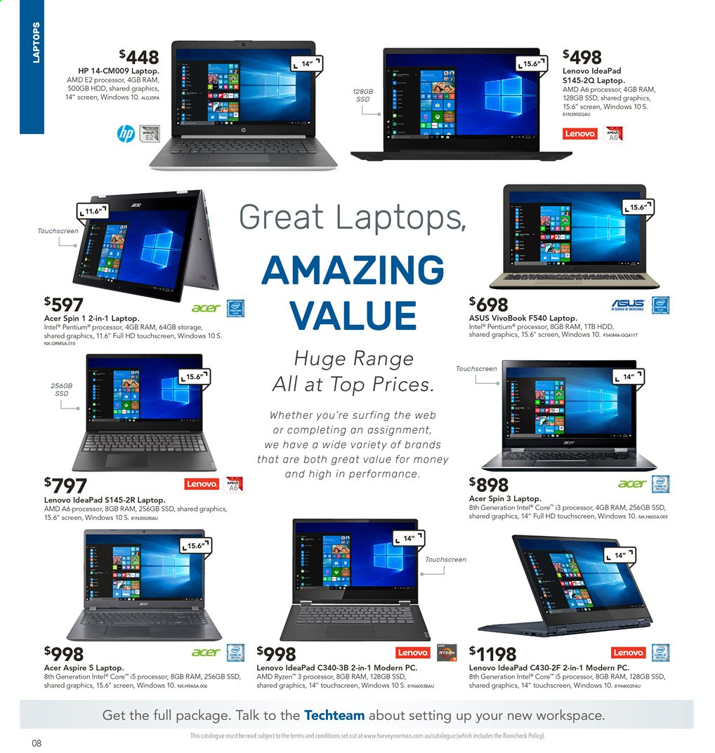 Harvey Norman catalogue and weekly specials 12 7 2019 - 28 7