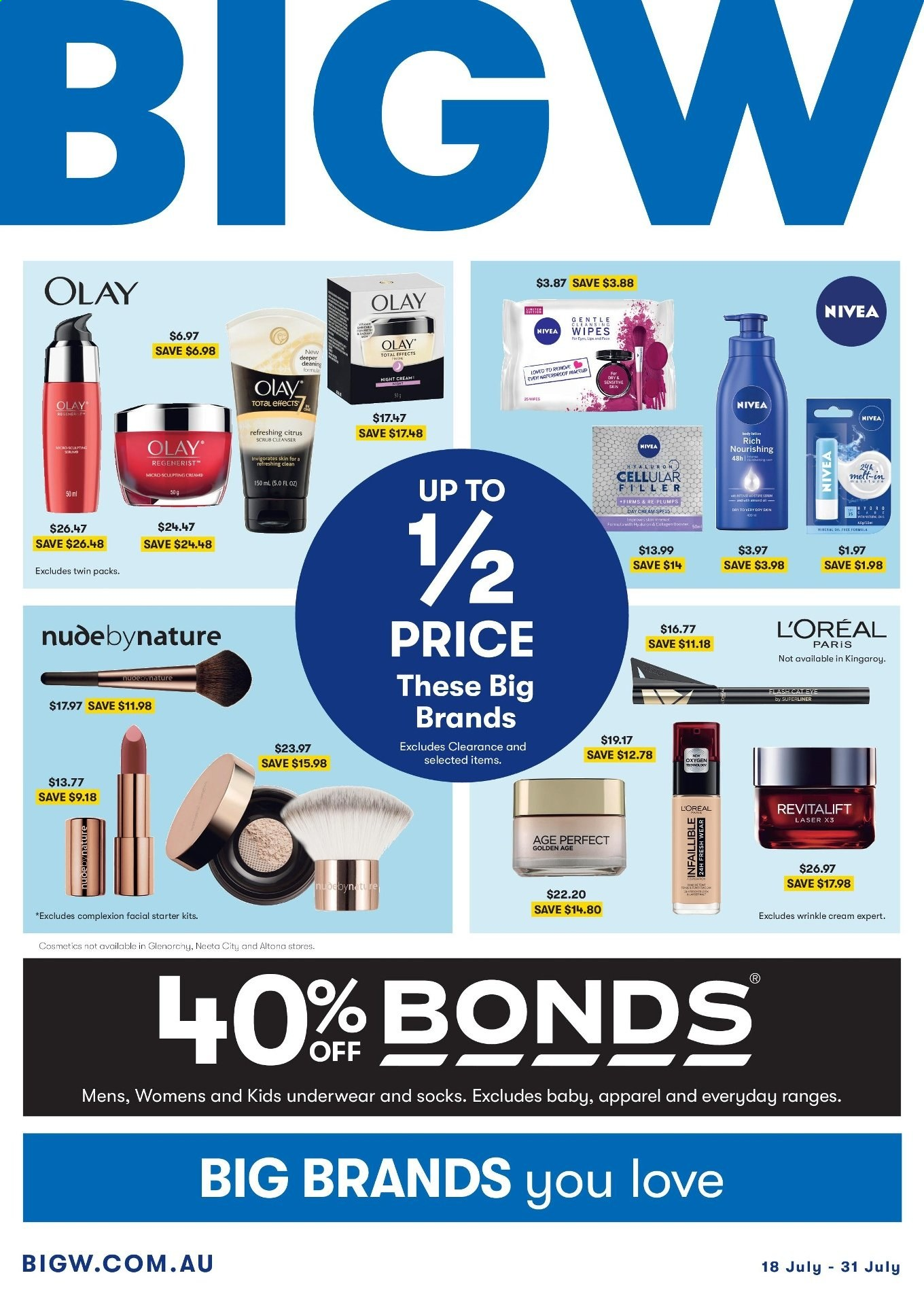 BIG W catalogue and weekly specials 18 7 2019 - 31 7 2019 | Au