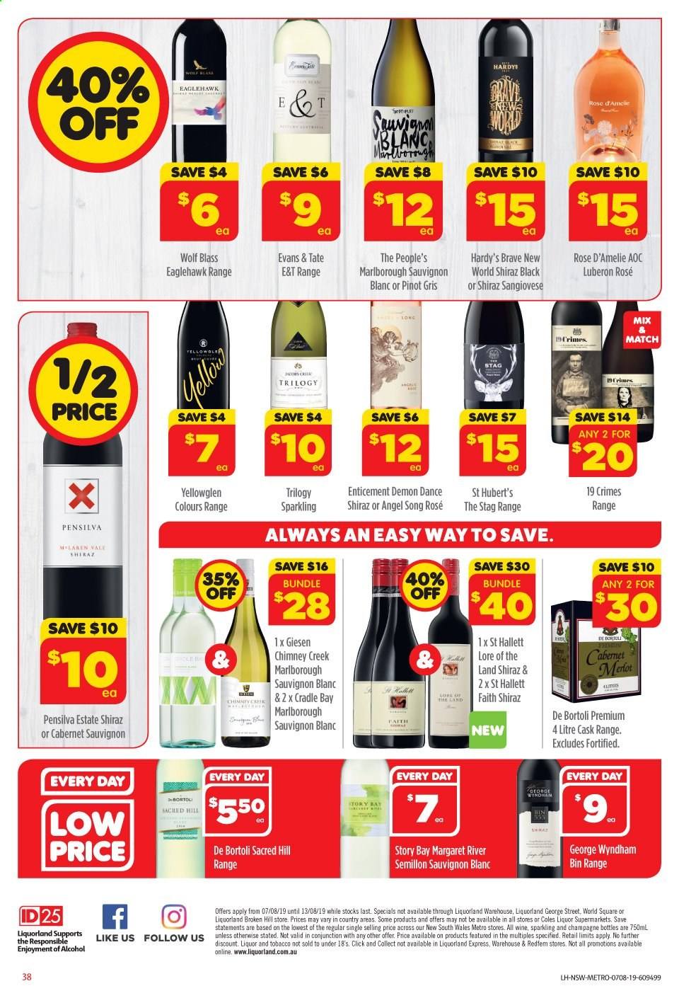 Coles catalogue and weekly specials 7 8 2019 - 13 8 2019 | Au