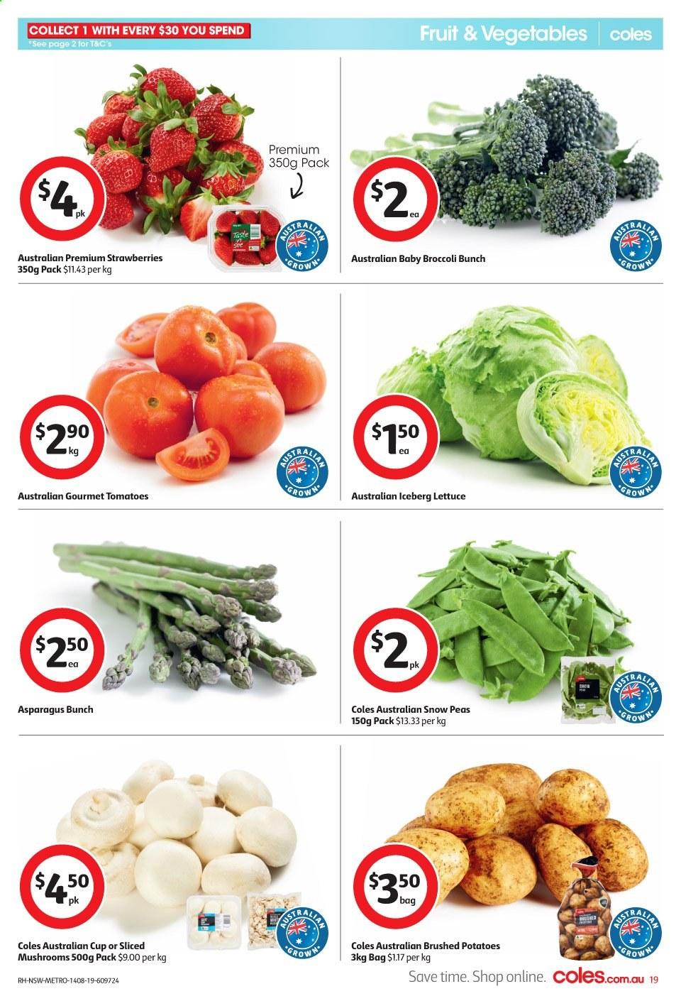 Coles catalogue and weekly specials 14 8 2019 - 20 8 2019
