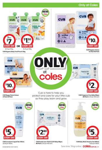 Coles Catalogue - 21.8.2019 - 27.8.2019.