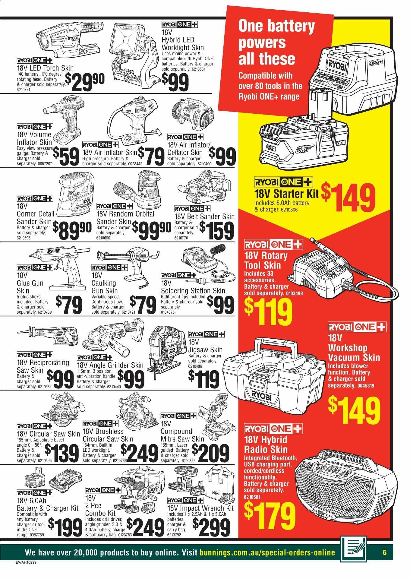 Bunnings Warehouse Catalogue And Weekly Specials Page 5 Au Catalogues