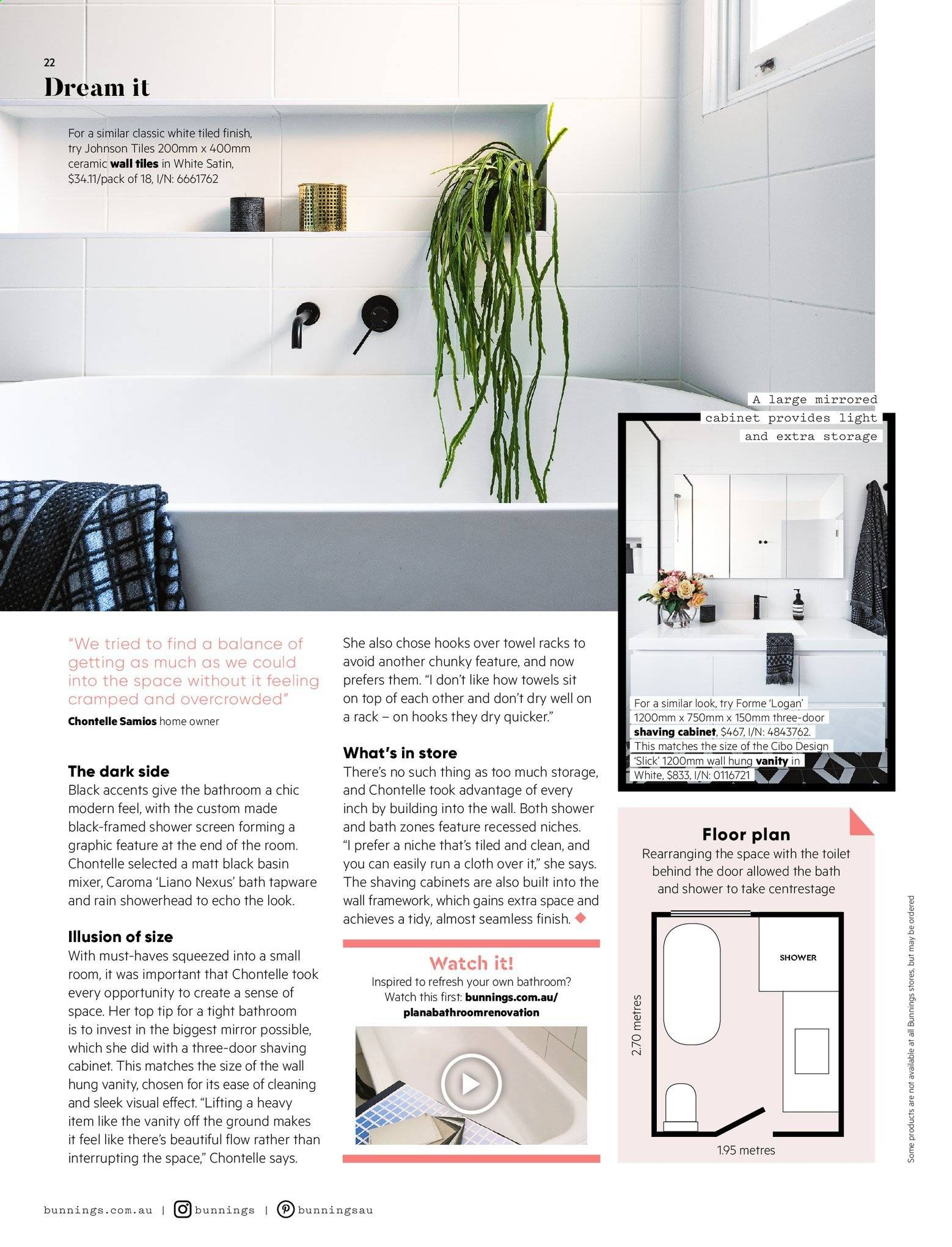 Picture of: Bunnings Warehouse Catalogue 1 9 2019 30 9 2019 Page 22 Au Catalogues