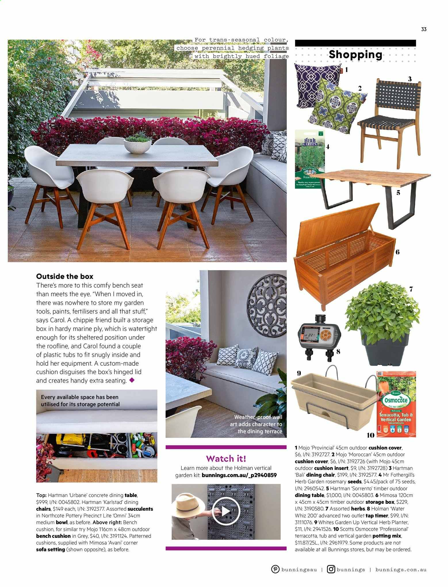 Prime Bunnings Warehouse Catalogue And Weekly Specials 1 9 2019 Pabps2019 Chair Design Images Pabps2019Com