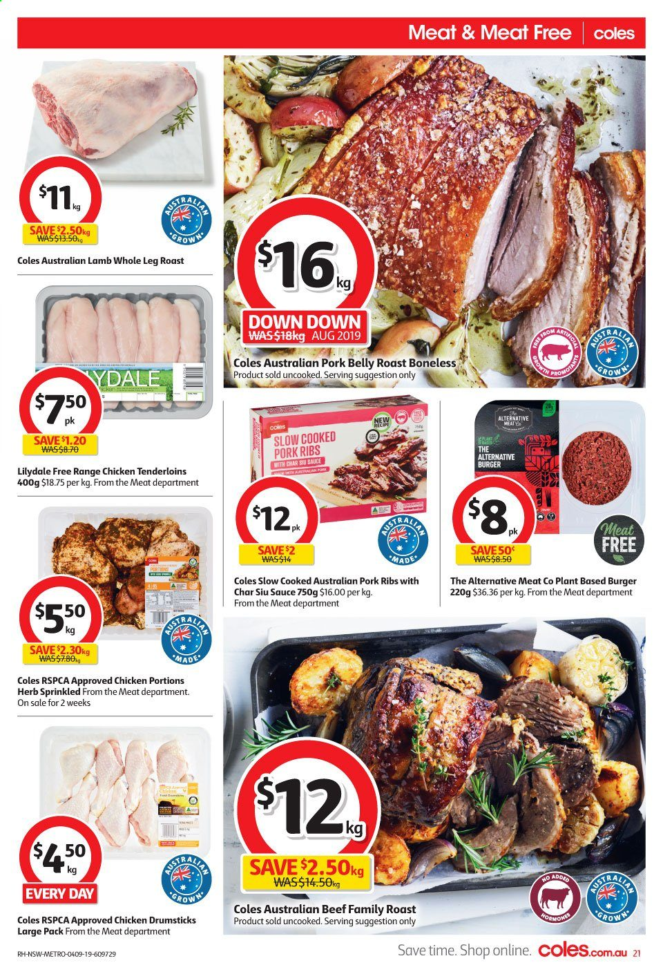 Coles catalogue and weekly specials 4 9 2019 - 10 9 2019