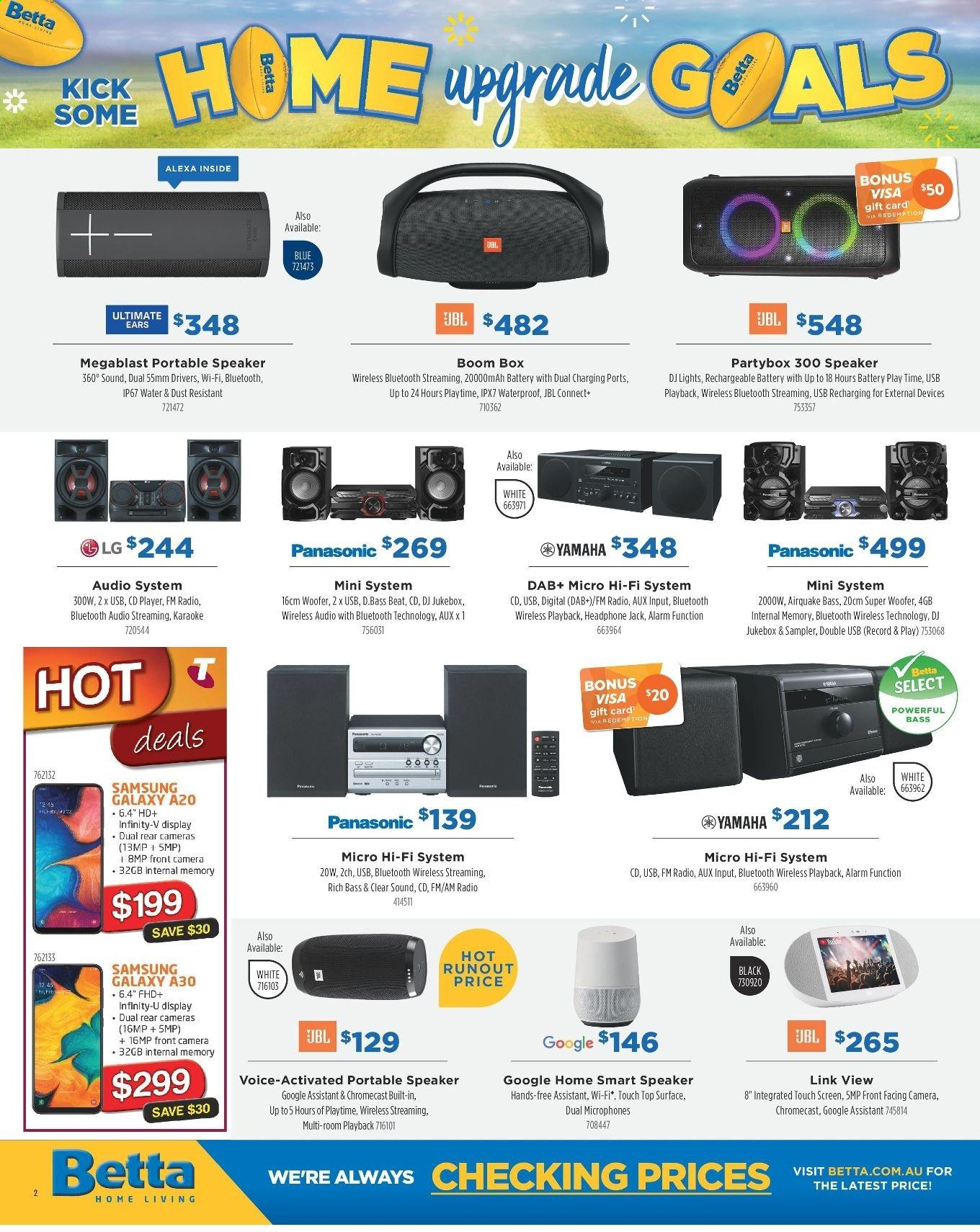 Betta catalogue and weekly specials 2 9 2019 - 30 9 2019