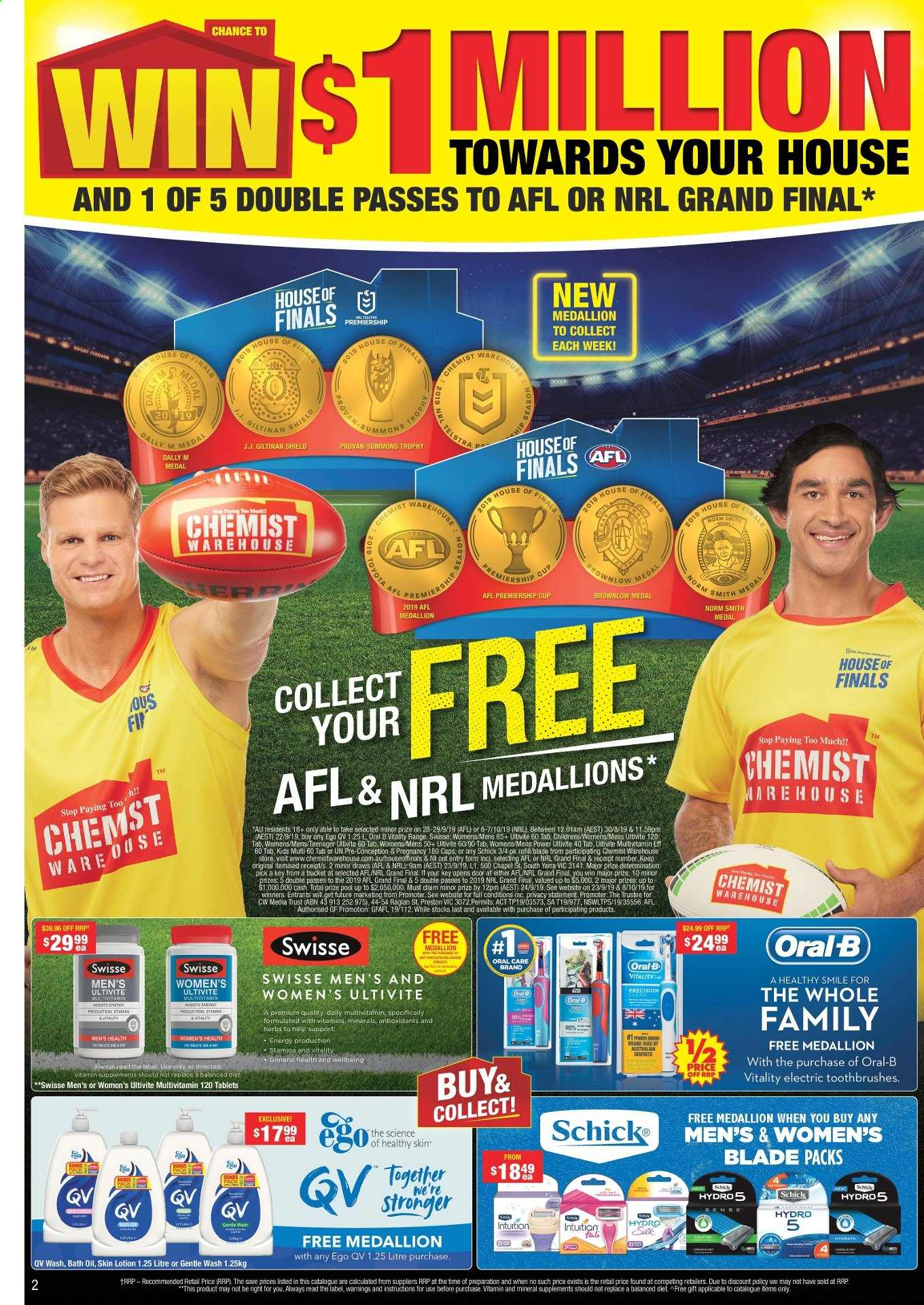 Chemist Warehouse catalogue and weekly specials 2 9 2019