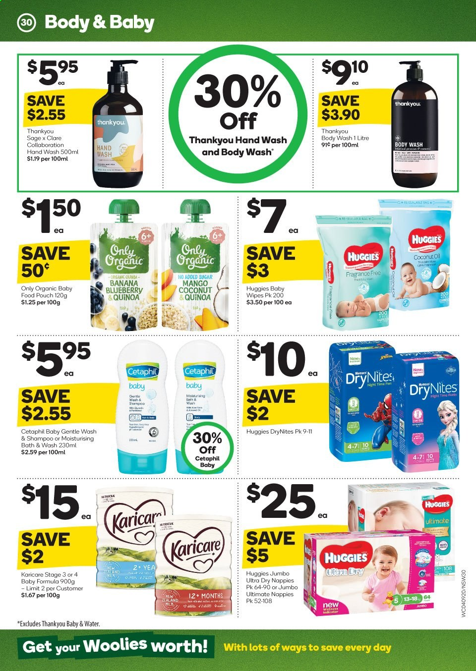 Woolworths catalogue and weekly specials 4 9 2019 - 10 9