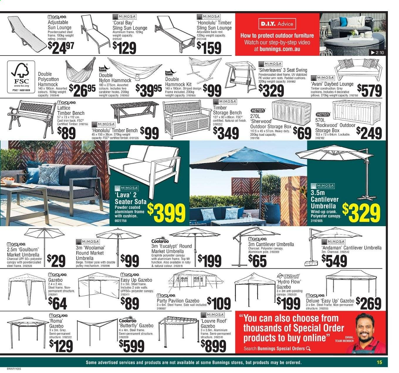 Picture of: Bunnings Warehouse Catalogue And Weekly Specials Page 15 Au Catalogues