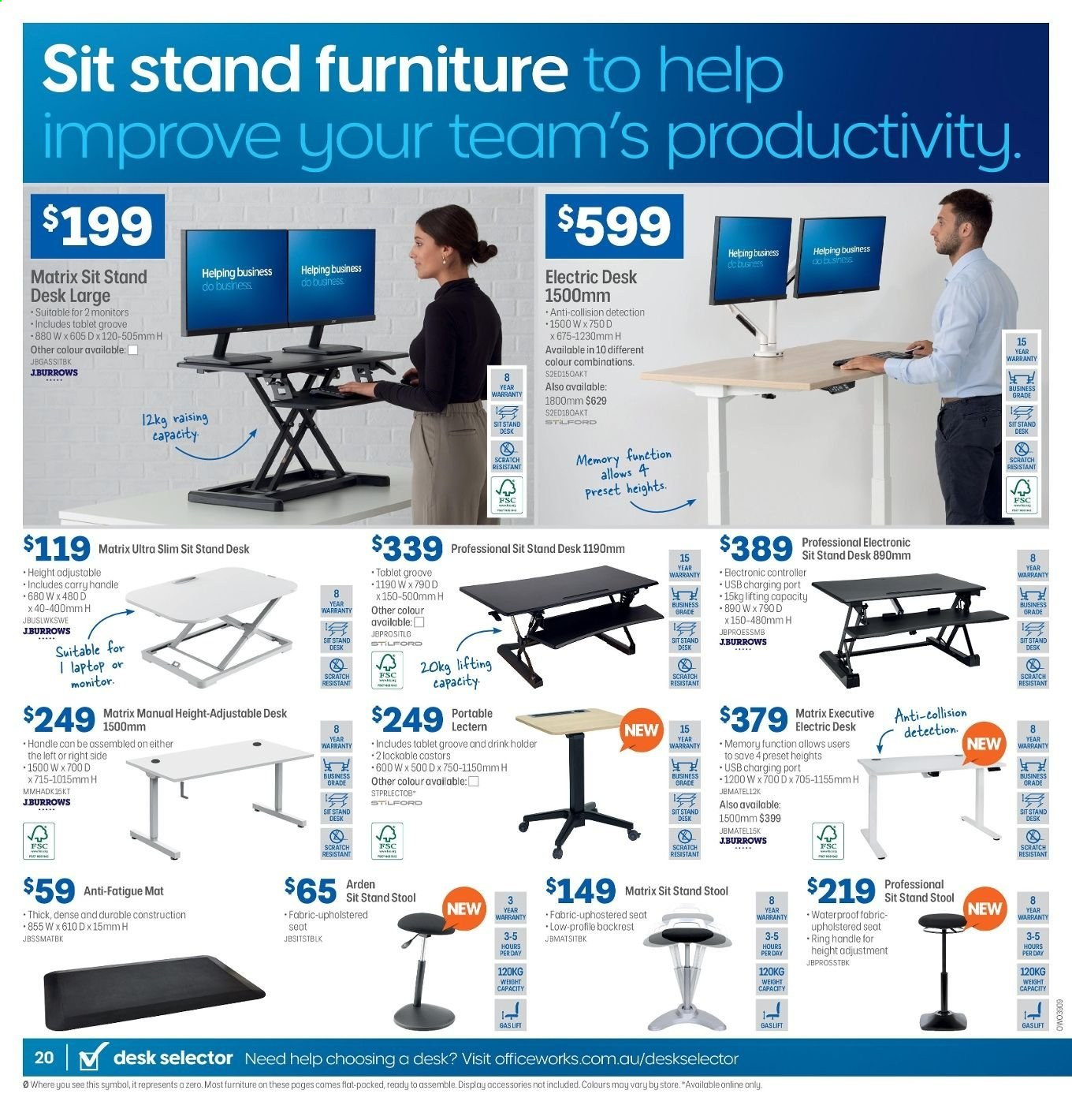 Officeworks Catalogue 31 10 2019 14 11 2019 Page 20 Au Catalogues