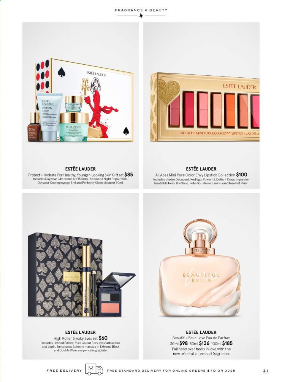 Myer catalogue and weekly specials 9.11