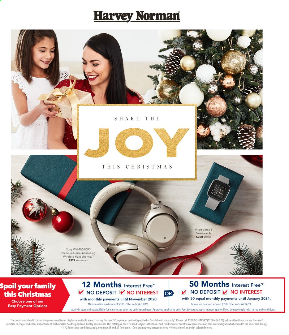 Harvey Norman catalogue  - 15.11.2019 - 1.12.2019. Page 1.