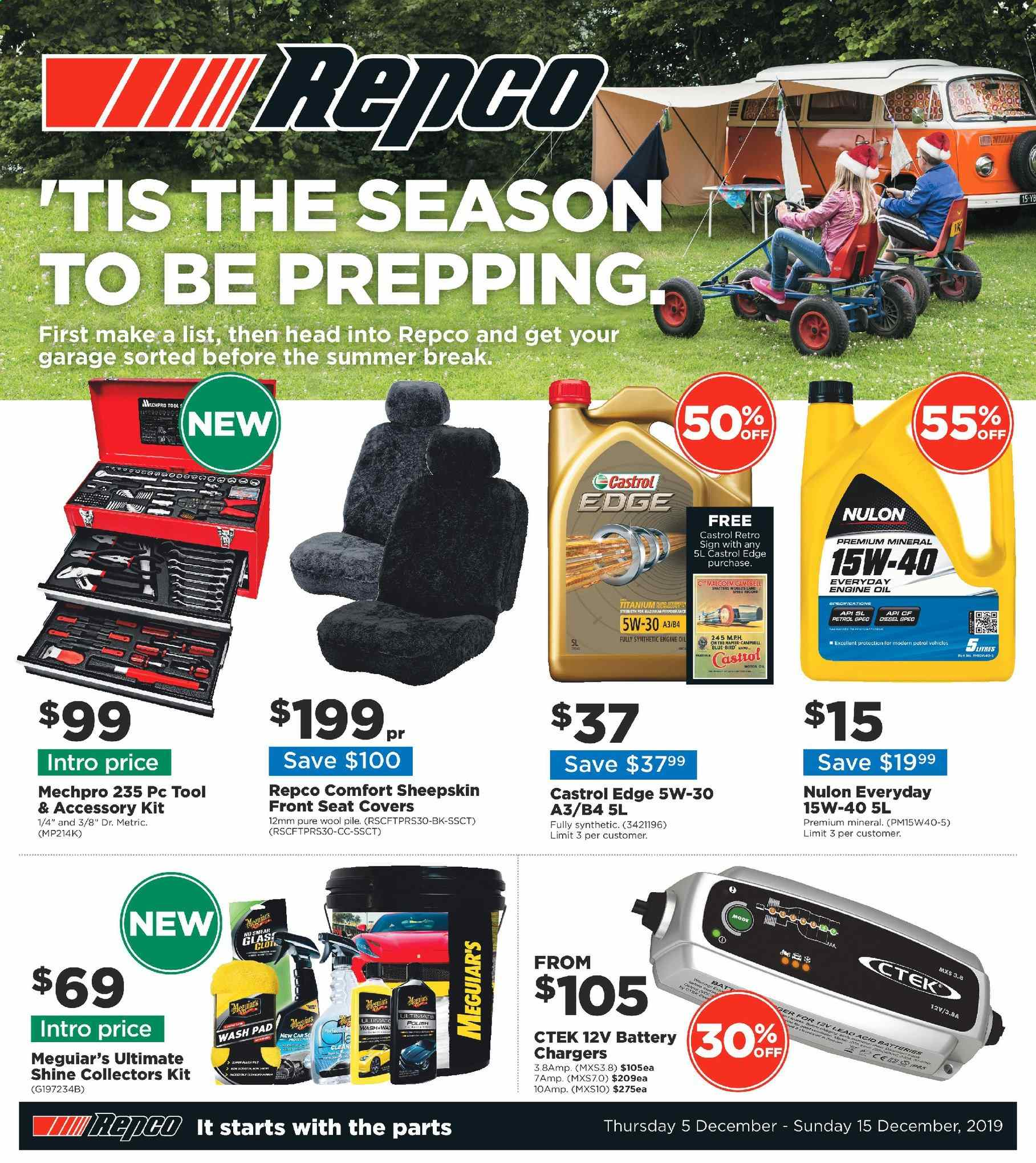 Repco catalogue  - 5.12.2019 - 15.12.2019. Page 1.