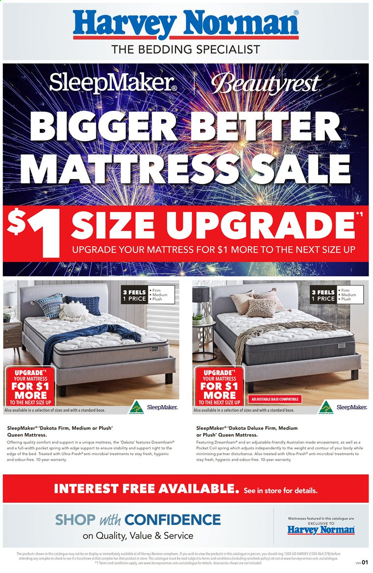 Harvey Norman catalogue  - 28.2.2020 - 22.3.2020. Page 1.