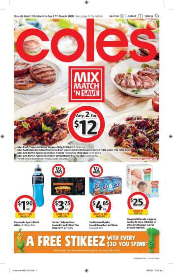 Coles Weekly Specials Catalogues And Deals Au Catalogues