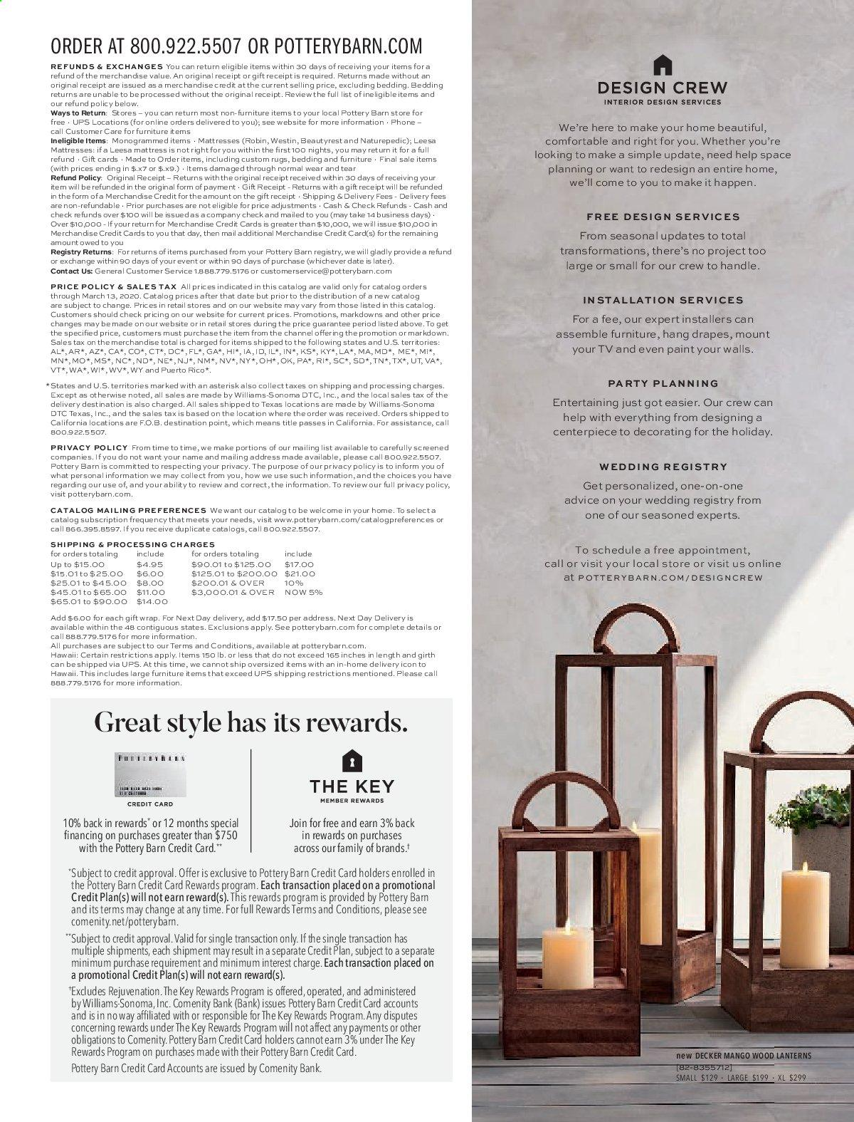 Pottery Barn Catalogue And Weekly Specials Page 37 Au Catalogues