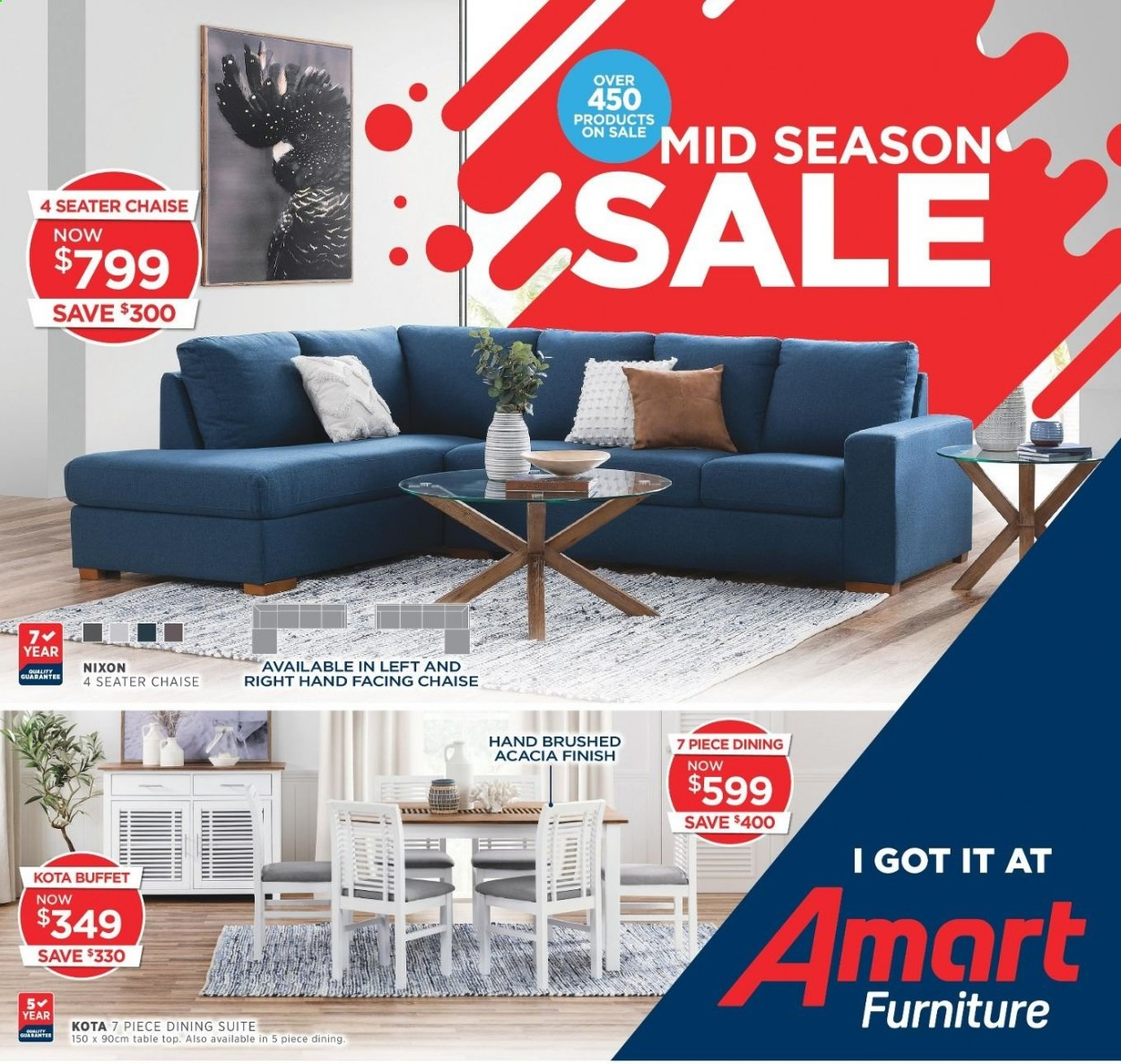 Amart Furniture catalogue  - 1.4.2020 - 5.5.2020. Page 1.