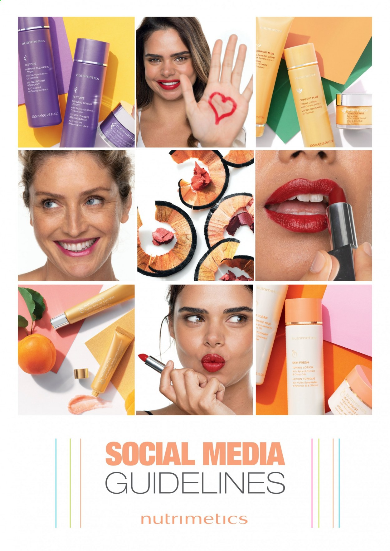 Nutrimetics Catalogue - Sales products - ointment, Nutrimetics, body lotion, oil. Page 1.