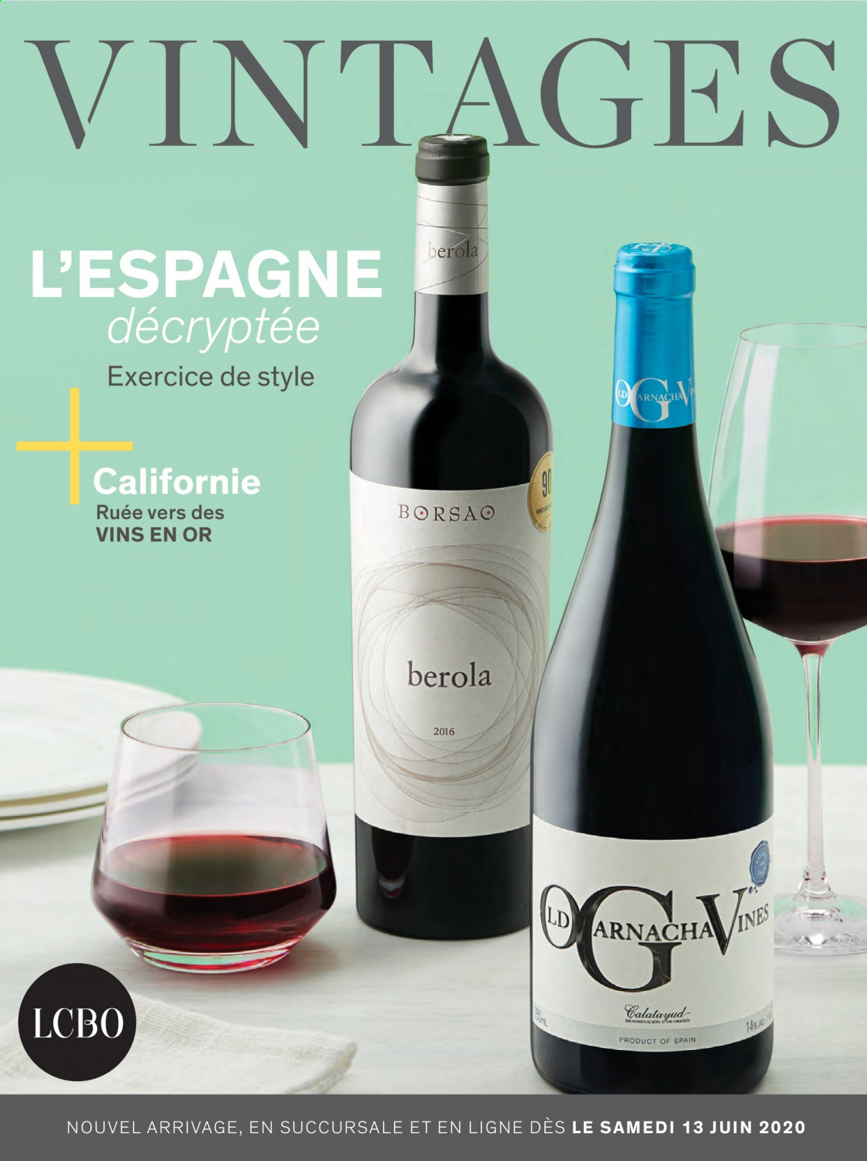 LCBO Flyer  - May 31, 2020 - June 13, 2020. Page 1.