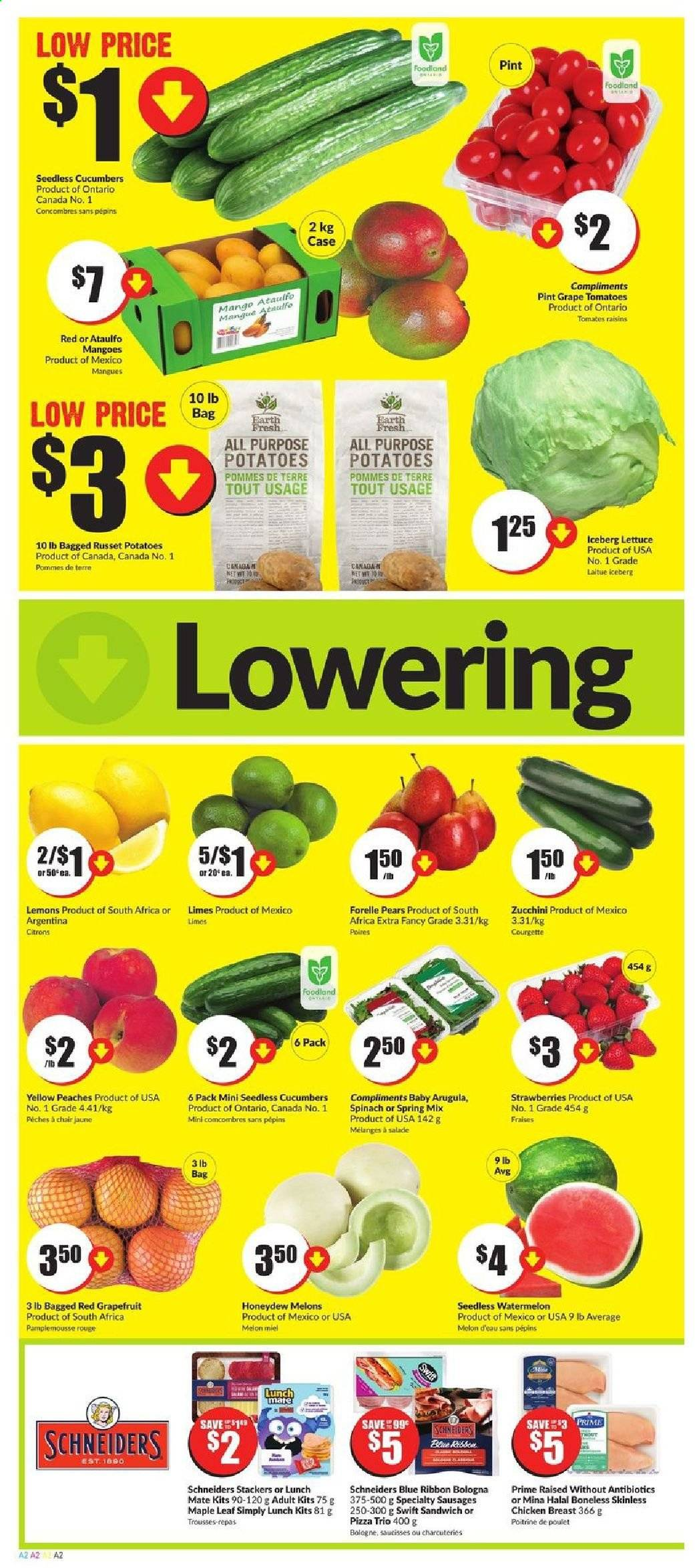 FreshCo. Flyer  - June 04, 2020 - June 10, 2020. Page 2.