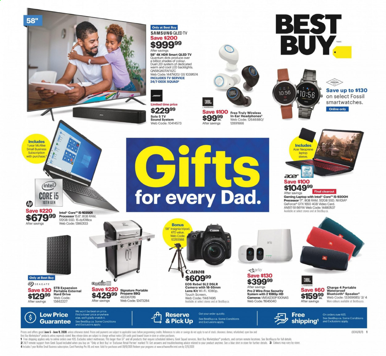 Best Buy Flyer June 05 2020 June 11 2020 Page 1 Canadian Flyers